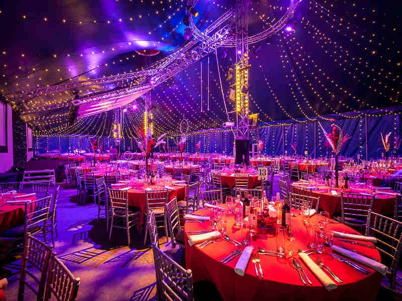 Cirque Lumiere Shared Christmas Party London Bloomsbury