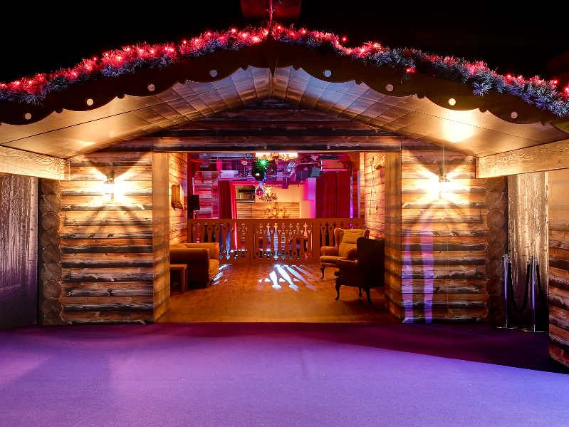 party location - The Christmas Lodge